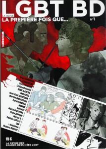 Couvrture du numero 1 du magasine LGBT-BD