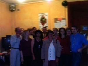 Photo de groupe : le C.A de Bi'cause et quelques adhérents, quelques amis...