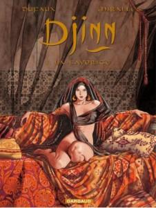 couverture du premier tome de Djinn : La favorite