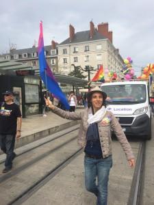 marche des fiertes Orleans juin 2016 - Valerie