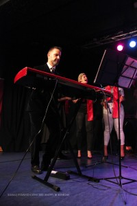 JO ANN PICKENS clavier et chef du groupe New-yorkais