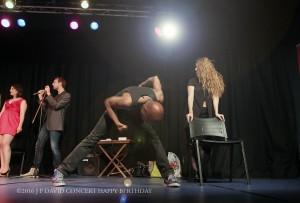 Jeux Miroirs sur scène Chanson Danse