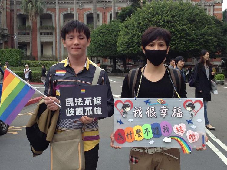 """r13_""""Je suis heureux, pourquoi on ne me laisse pas me marier?"""", le concert pour l'égalité du mariage Taïwan 2016"""