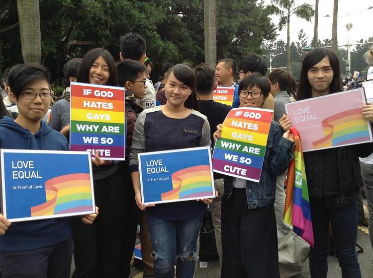"""r15_""""Si le Dieu nous déteste, pourquoi nous sommes si mignons?"""", le concert pour l'égalité du mariage Taïwan 2016"""