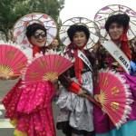 un groupe coréen, la Marche des fiertés Taïwan 2016