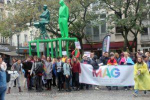Le mag à l'arrivé de la journée internationale de la bisexualité paris 2018