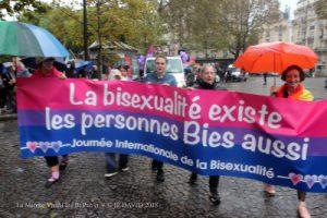 banderiole de te pour la de la journée internationale de la bisexualité paris 2018