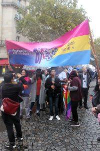 participant-e-s de la journée internationale de la bisexualité paris 2018