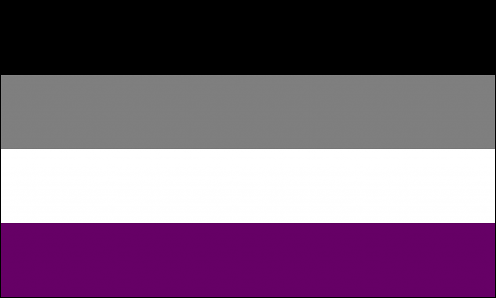 Drapeau asexuel