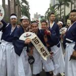 un groupe japonais, la Marche des fiertés Taïwan 2016