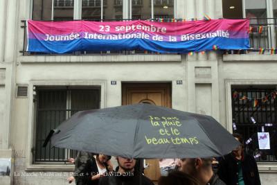Pause devant le centre LGBT PAris Ile de France©JIB 2018- JP DAVID