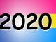 2020 sur drapeau bi et pan
